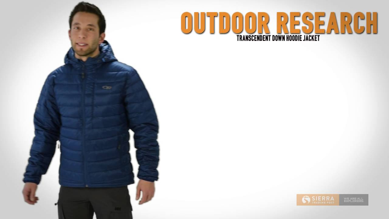 4ba65086143 Outdoor Research Transcendent Down Hoodie Jacket - 650 Fill Power (For Men)