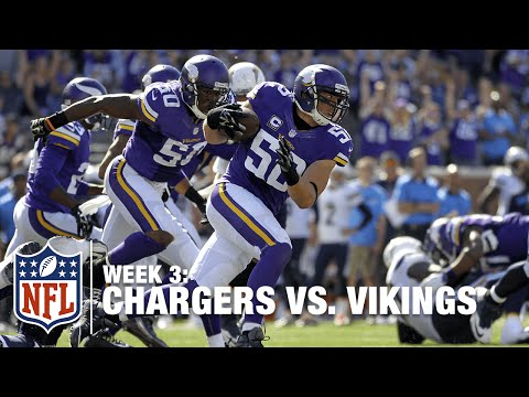 Philip Rivers Tosses a Pick Six to Chad Greenway | Chargers vs. Vikings | NFL