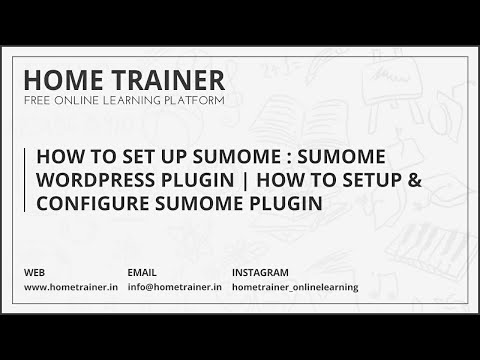 How To Set Up SumoMe : SumoMe WordPress Plugin | How To Setup & Configure SumoMe Plugin To Wordpress
