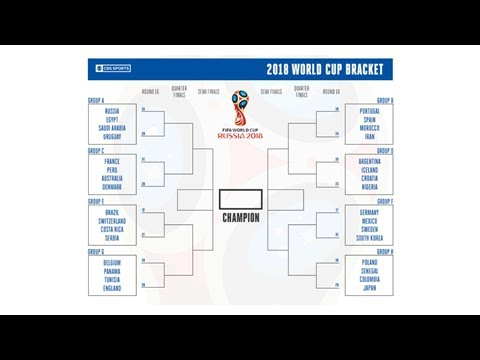 photo regarding Printable World Cup Bracket named Printable Global Cup bracket: Produce your Russia 2018