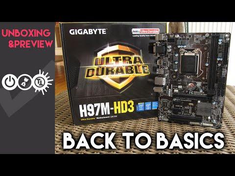 Gigabyte H97M-HD3 Unboxing
