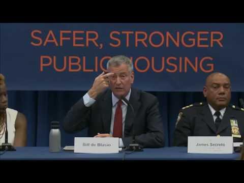 Mayor de Blasio Hosts Press Availability