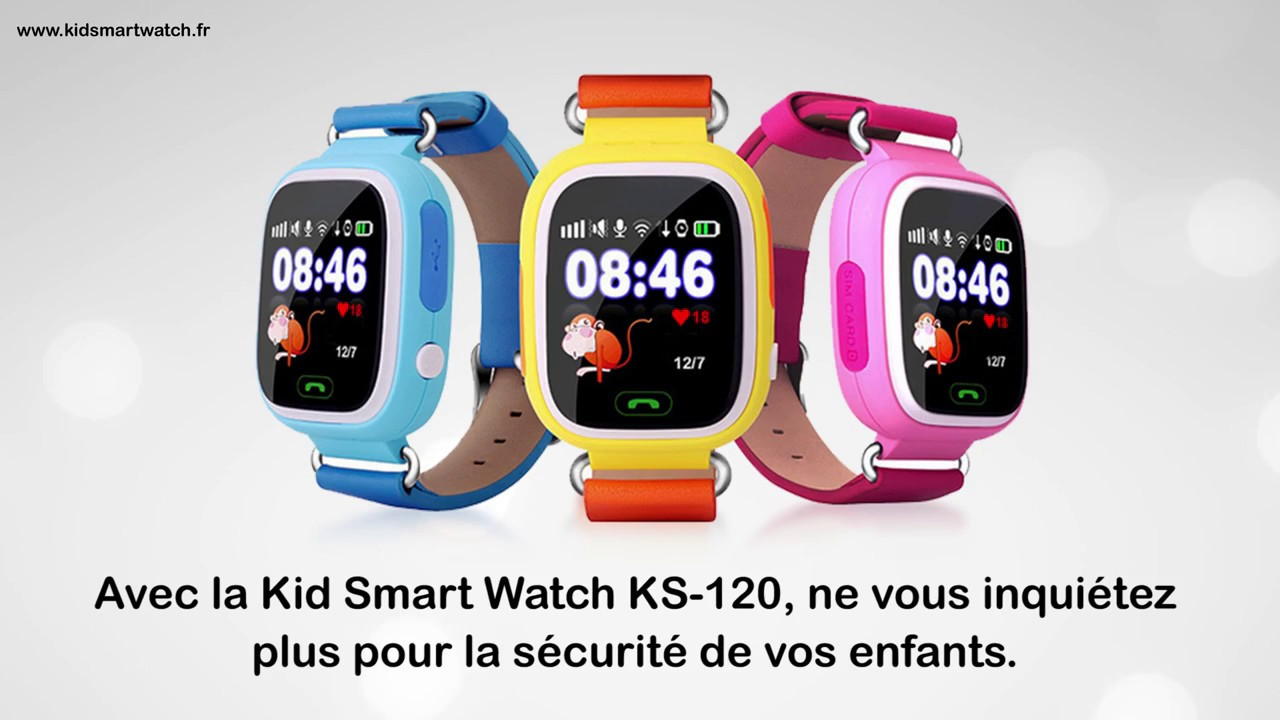 Montre Connectee Gps Pour Enfant Ks120 Youtube