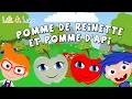 Pomme De Reinette Et Pomme D'api - Chanson Pour Les Petit En Francais Avec Paroles