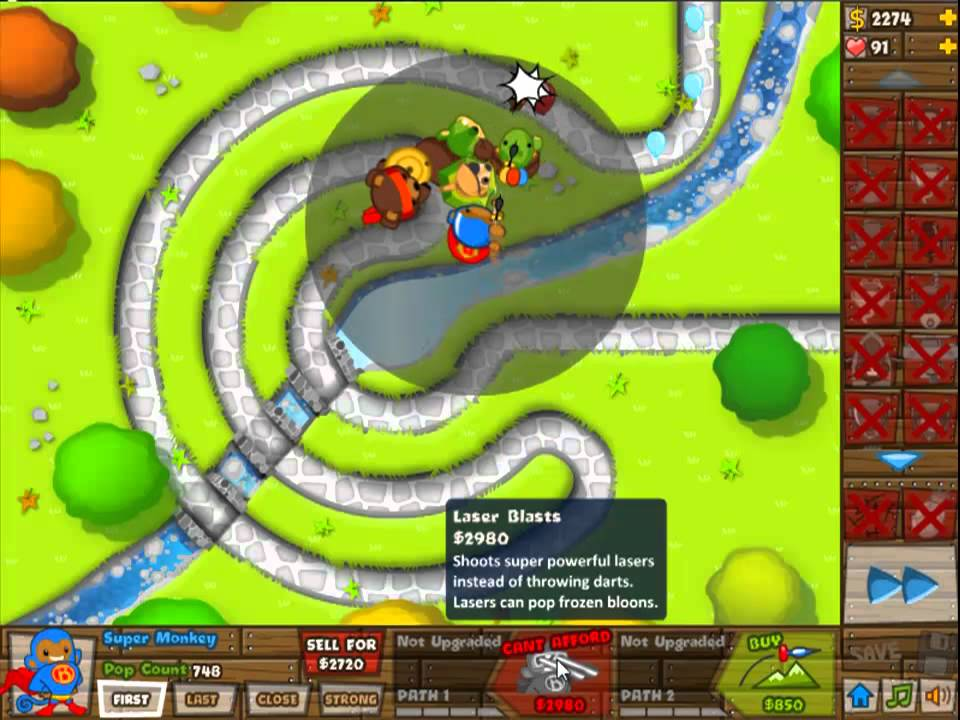 Angry Squirrel Stays Angry - Bug in Bloons Tower Defense 5 ...