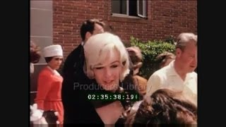 RARE Colour Footage Of Marilyn Monroe At The Christening of Clark Gables Son March 1961