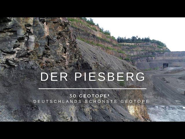 Der Piesberg - 30 Geotope³ - Deutschlands schönste Geotope