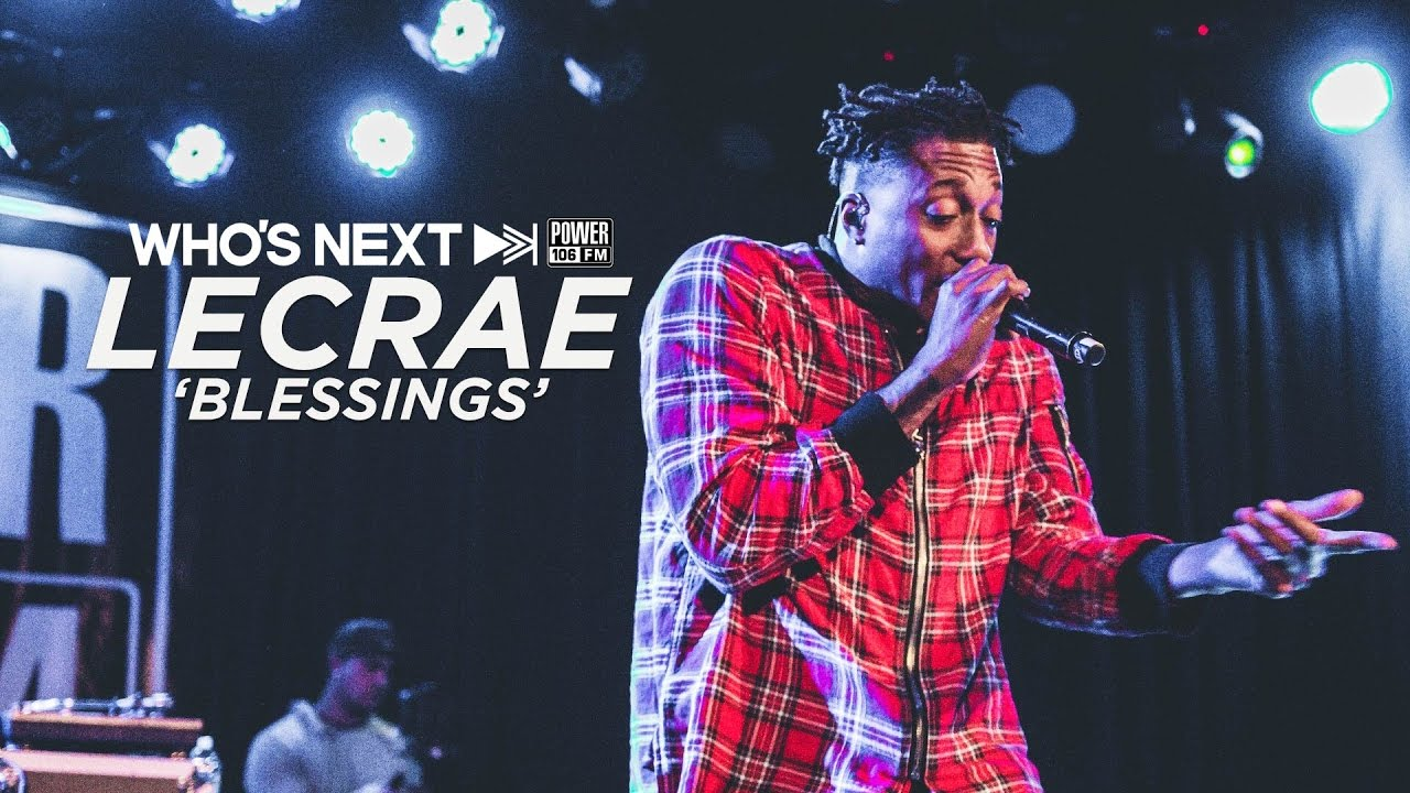 Lecrae Performs 'Blessings (feat  Ty Dolla $ign)' Live