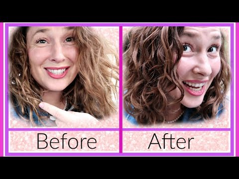 Jessica's Curly Hair Makeover!
