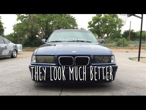 Restoring E36 Headlights