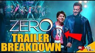 ZERO | Eid Teaser Breakdown | Shah Rukh Khan | Salman Khan
