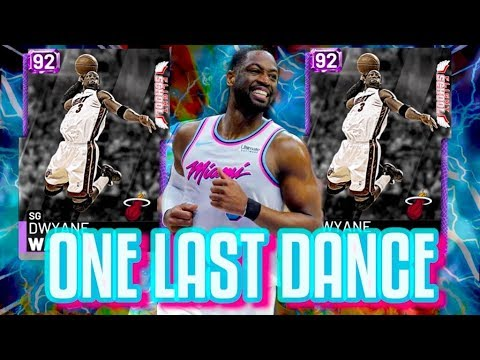 ONE LAST DANCE! WADES LEGACY IS RECREATED! NBA 2K19 MyTeam