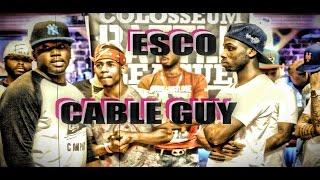 The Colosseum Battle League (Movie 2) ESCO vs CABLE GUY