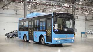 Производство автобусов для Актобе