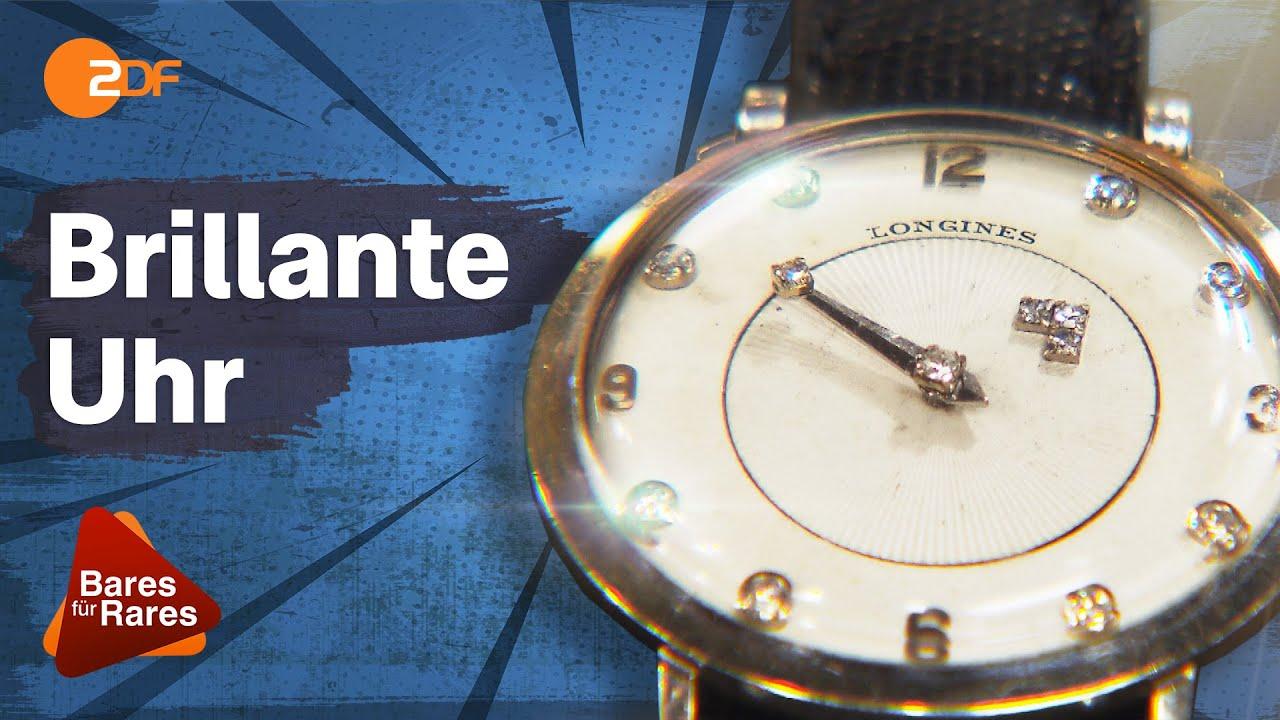 Diamantenbesetztes Ziffernblatt! Herrenmodell der ältesten Uhrenmarke der Welt | Bares für Rares