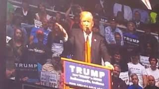 Trump in Indy 4.27.16