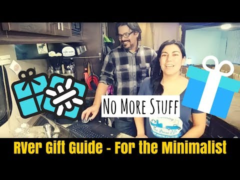 RVer Gift Guide for the Minimalist in your Life - Full Time RV Living