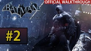 Batman Arkham Origins - Walkthrough Gameplay - Part 2 Seasons Greetings