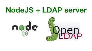 How to create users and authenticate in NodeJS using LDAP server