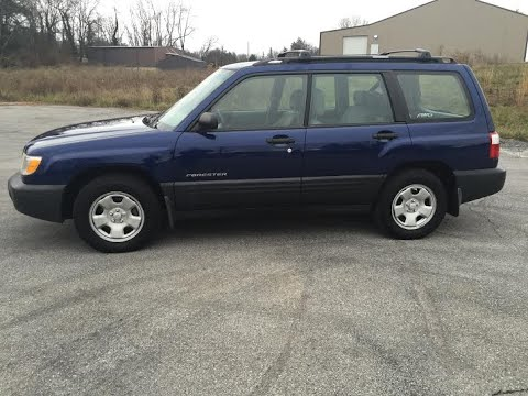 2001 subaru forester l awd wagon suv tour walk around engine start up youtube 2001 subaru forester l awd wagon suv tour walk around engine start up
