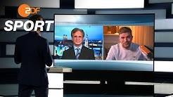Wie realistisch sind Fußball-Geisterspiele ab Mai? | das aktuelle sportstudio vom 4. April - ZDF
