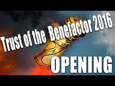 Treasure trust of the benefactor 2016 x72/EPIC open case Dota 2 / + immortal treasure