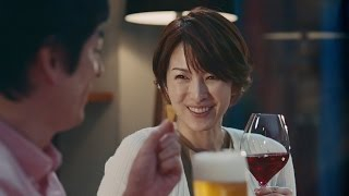 吉瀬美智子、CMで博多大吉と夫婦に 「ふふっ」と照れた表情も  「生チーズのCheezaチーザ」新TVCM「チーザなひととき」編 吉瀬美智子 検索動画 24