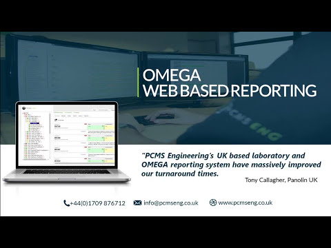 OMEGA - Free Oil Analysis Web-based Reporting Platform