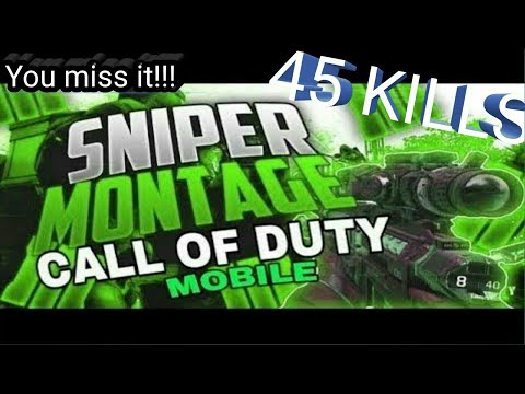Call Of Duty |Sniping Montage | New Record 45 Kills | GAMING MANIA