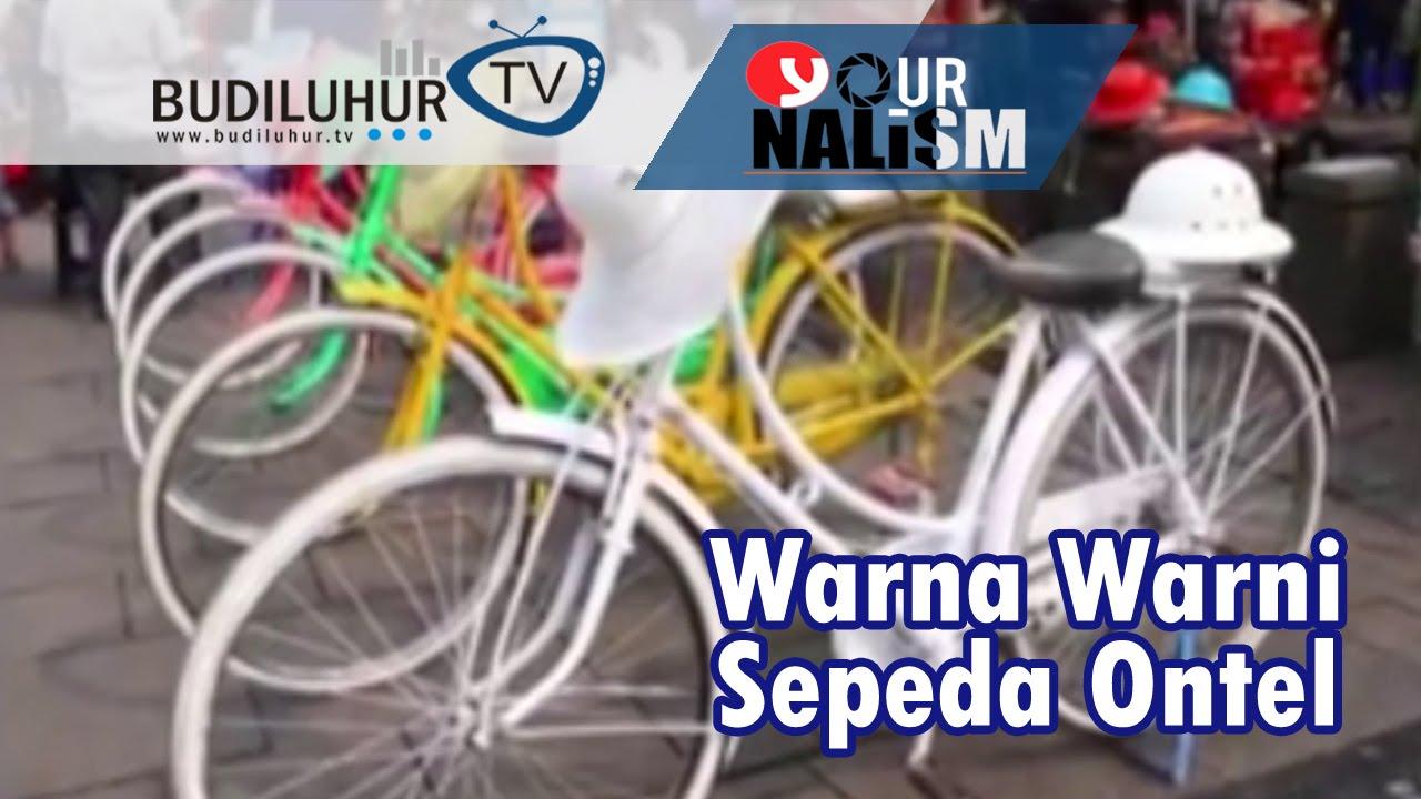 Yournalism Warna Warni Sepeda Ontel Kota Tua Jakarta Youtube