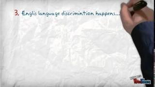 5 Facts about language discrimination