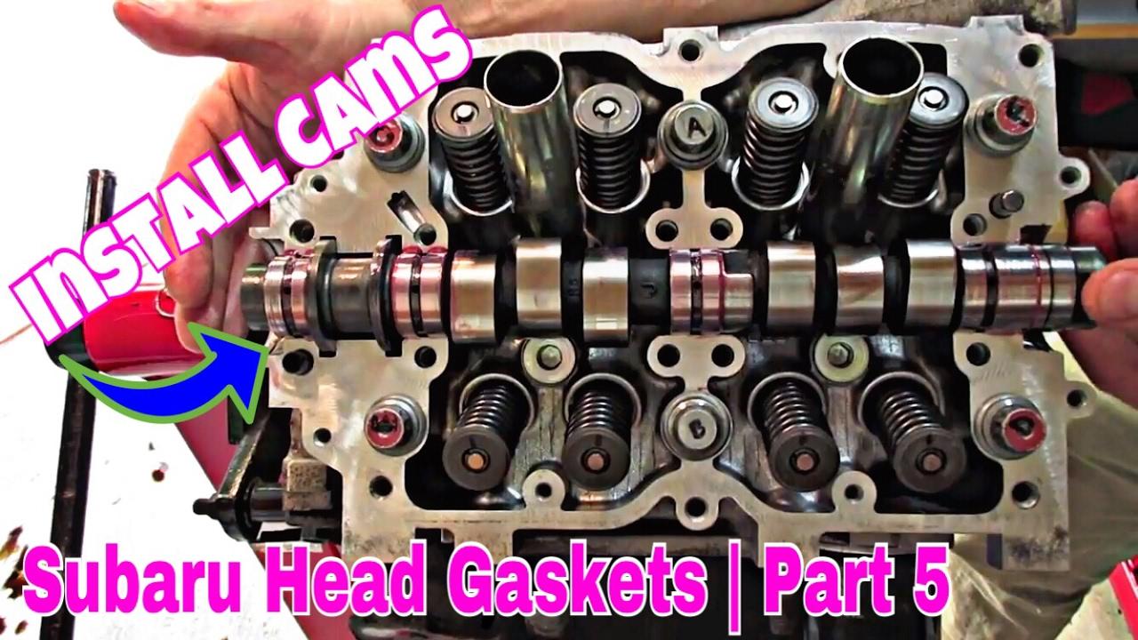Subaru DiY | How to Install Camshafts & Rocker Arms [Head Gasket Repair #5]