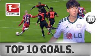 Top 10 Long-Range Goals - 2014/15