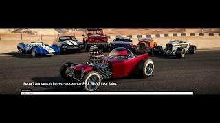 January 2019 Forza Motorsport 7 Barret Jackson Car Pack!