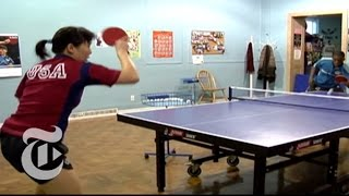U.S. Table Tennis, Beijing-Style | The New York Times