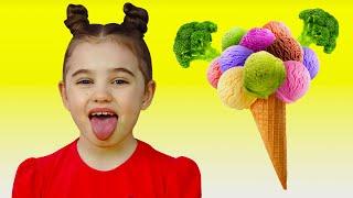 Do You Like Broccoli song | 동요와 아이 노래 | 어린이 교육 | Polina Fun