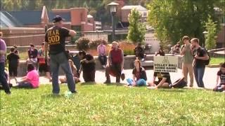 Open Air Preaching Appalachian State Boone