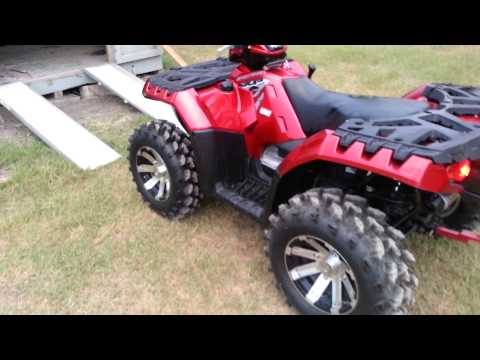 Repeat Polaris Sportsman 850XP Big Gun Exhaust by Lucas