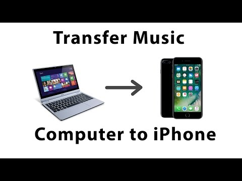 Transfer music from pc to iphone 7 without itunes