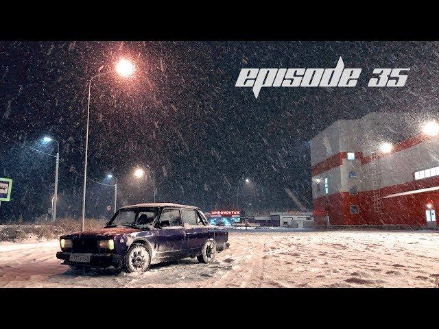 Episode 35 - Разбили ЖИГУ. Первый зимний дрифт.