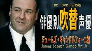 俳優別 吹き替え声優 337 ジェームズ・ギャンドルフィーニ 編