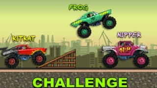 Monster Wheel - Top Monster Truck Game