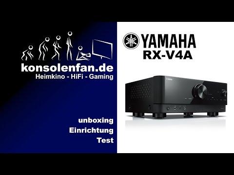 Test► Yamaha RX V4A - neuer AV-Receiver für den Einstieg ins Heimkino