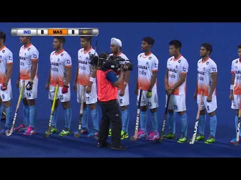 India v Malaysia Day 2 Sultan of Johor Cup Hockey 2017