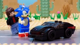 Lego Dimensions: Sonic Meets Michael Knight