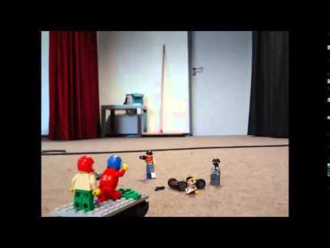 Eine Schießerei in Lego City