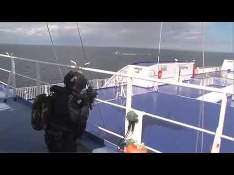 Army Ranger Wing Ferry Insertion 2011