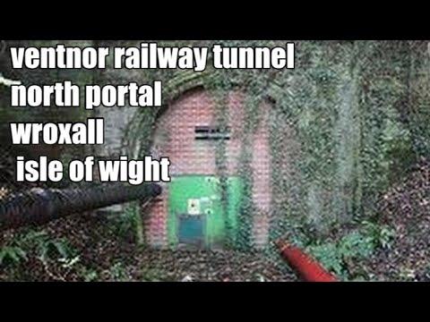 ventnor railway tunnel - north portal - isle of wight