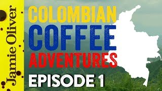 Coffee Hunters Colombia   Episode 1   John Quilter AKA Food Busker