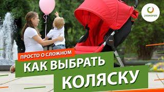 Как выбрать коляску для новорожденного ▶️ Обзор детских колясок